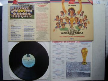 This Time England World Cup Squard LP